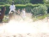 Parcours 80 cm: Camille sur Ilunda au Concours du Ry