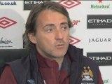"""Mancini: """"Vogliamo il terzo posto"""""""