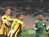 Το γκολ του Ζιλμπέρτο στο ΠΑΟ - Εργοτέλης 2-0.