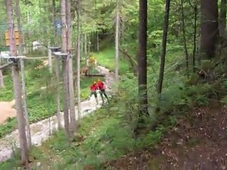 Kletterpark Altaussee - Flying Fox