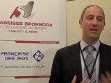 Assises Sporsora - Charles Lantieri, Directeur Général Délégué de la Française des Jeux