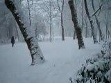 SNOW! A 360 in my beloved Vondelpark, Amsterdam