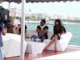 Festival de Cannes , plage Majestic 64