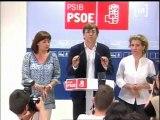 Reaccions a la seu del PSIB-PSOE