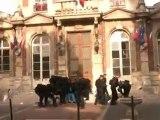 Etudiants musulmans face aux CRS