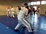préparation combat  pieds poings