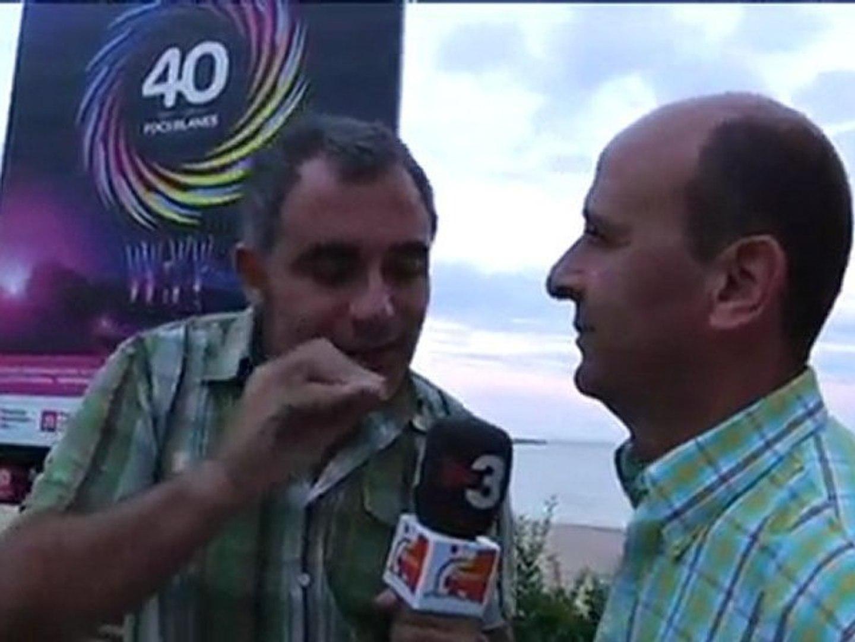 TV3 - Els matins - Penúltima jornada del 40è concurs de focs d'artifici de Blanes