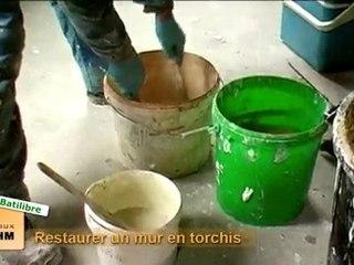 Eco-restauration : restaurer un vieux mur en torchis