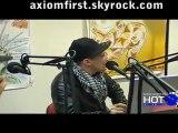 AXIOM INTERVIEW SUR  HOT95    Le 1er portail Indépendant de Hip-Hop US FR   RNB