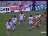 Jeu à XIII : finale du championnat de France, XIII catalan / le Pontet 06/06/1987