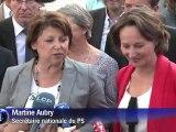 Aubry et Royal à Poitiers pour défendre le projet socialiste