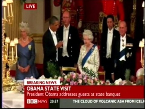 Obama Bitch Slapped by the Queen
