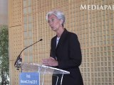 Christine Lagarde annonce sa candidature à la direction du FMI