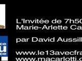 Marie-Arlette Carlotti - interview sur France Bleu Provence, la candidature de François Hollande - 25 mai 2011