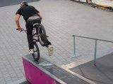 Playstation high air & grind Contest BMX Rennes