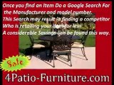 Patio Furniture How to buy online and get Huge Savings.