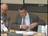 Bertrand Pancher interroge Philippe de La Doucette, président de la commission de régulation de l'énergie