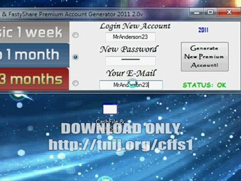 extabit premium account generator 2012 2.0v