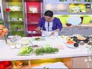 salade Choumicha - recette pour maigrir salade avocat salade pomme