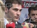 Casillas: Xavi e Iniesta sus favoritos