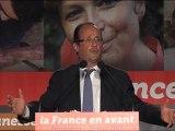 Francois Hollande à Périgueux
