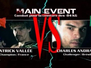 100%FIGHT 5 - Trailer Patrick VALLEE vs Charles ANDRADE