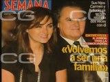 Las portadas de las revistas del corazón