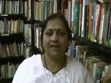 Mrs. Mangala Sarada - Why she likes to give talks at HELP.wmv