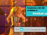 Shakira with Amr Diab Live - Yas Arena, Yas Island, Abu Dhabi