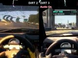 Colin McRae: DiRT 2 vs DiRT 3
