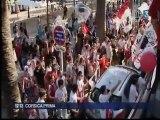 Reportage sur la fête ajaccienne et une petite réaction de Carl sur FR3 Corse