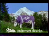 Publicité Chocolat Milka 2003