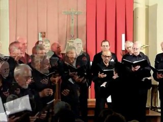 Vox Vesunna - Choeur d'hommes du Périgord - Eglise de Port-Sainte-Foy mai 2011