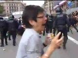 Schockierendes Video aus Spanien - Wie die Polizei mit der Revolution in Spanien umgeht