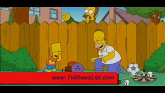 """The Simpsons Season 22 Episode 22 """"The Ned-Liest Catch"""" 2011"""