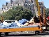 Royal de luxe : le coucher de la petite géante ;27 mai 2011