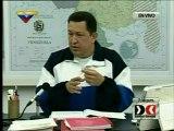 CHÁVEZ CONFIRMA VISITA DE LULA A VENEZUELA Y ANUNCIA VIAJE A TRES PAÍSES