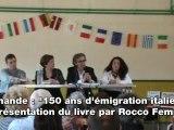 Marmande: présentation d'un livre sur l'émigration italienne