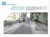 32 Station pour vélos électriques partagés
