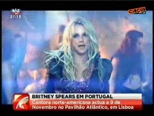 SIC Jornal da Noite 'Britney Spears em Portugal'