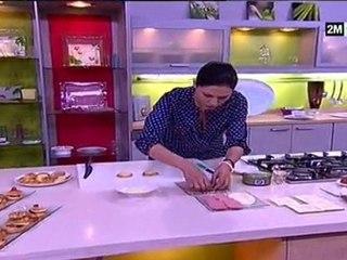 Choumicha - Recette mini sandwich