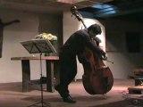 HAENDEL Sarabande en re contrebasse solo