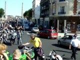 Manif Motos du 2 juin 2011 Retour en centre ville de St Quentin !!! Le Bordel La police est débordée