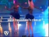 FarandulaTv.com.ar Las hermanas Escuderos, ritmo Cha cha cha en Bailando 2011