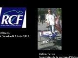 Interview de Julien Peron sur RCF Orléans