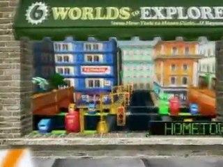 Frogger 3D - Vidéo de gameplay de Frogger 3D