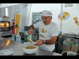 L'ITALIE A TABLE AVEC LES COULEURS TRICOLORES A NICE