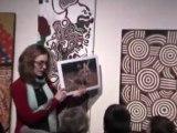 Exposition Grand Nord Grand Sud, artistes inuit et aborigènes visitée avec la classe de CP de l'école jean Macé Brest - Novembre 2010