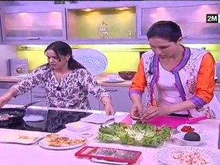 Choumicha - recette salade au poulet et avocat
