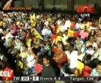 Chennai Rhinos vs. Telugu Warriors  Telugu Warriors Innings Over05
